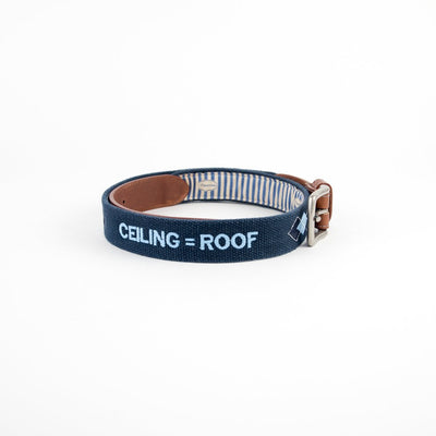 Ceiling=Roof Navy Belt