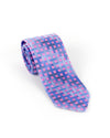 Roy's Pink Windowpane Stripe Necktie