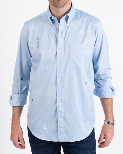True Blues Oxford Button-Down Shirt