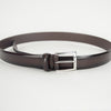 Burnished Brown Leather Belt