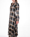 Plaid Long Dress