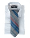 Coaching Pink Stripe Tie