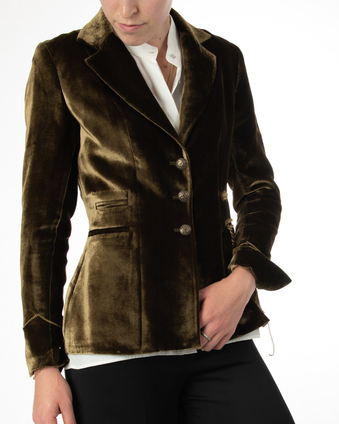Mariane Rock Silk Velvet Jacket