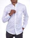 Classic White Buttondown Oxford Shirt