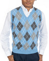 Scottish Geelong Lambswool Argyle Sweater Vest