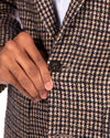 Boucle Houndstooth Sportcoat