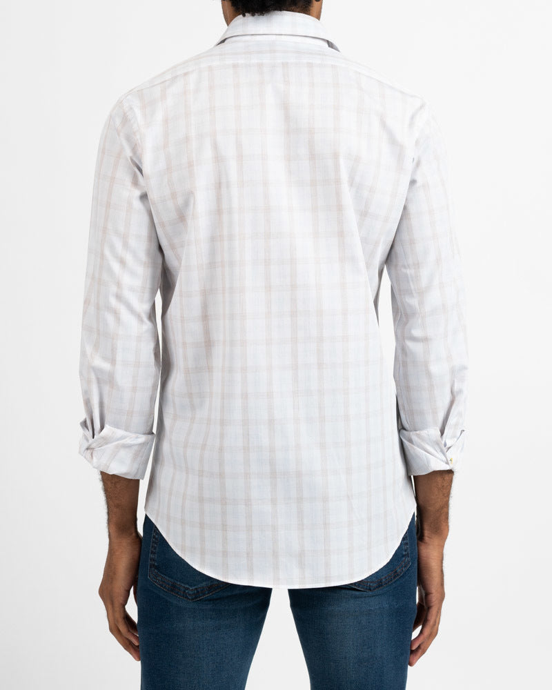 Heather Multi Gingham Shirt