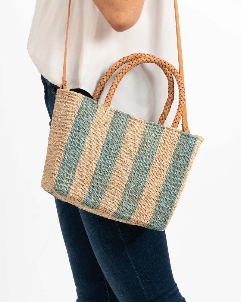 Toalla Natural Blue Handbag