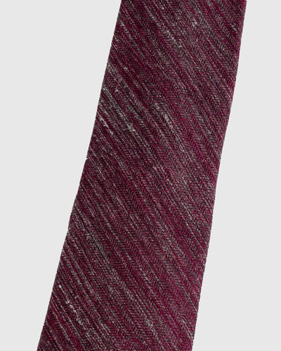 Rose Heather Herringbone Necktie