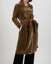 Gypsy Silk Velvet Trench