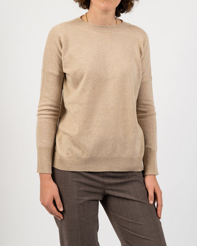 Beige Sweater with Bow