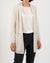 Long Cream Cashmere Cardigan