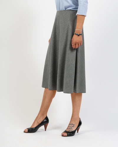 Grey Bias Piazza Sempione Skirt