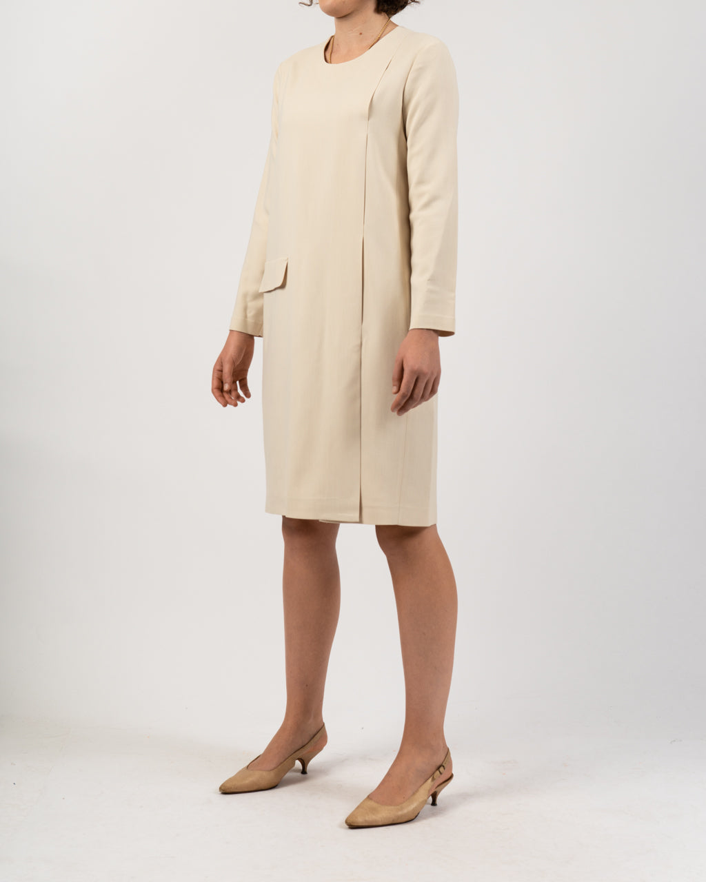 Mariotito Cream Dress