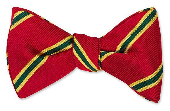 Dragoons 6th Striped Bowtie
