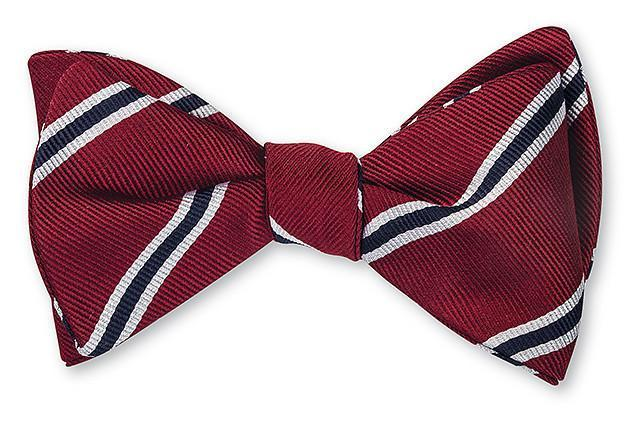 Old Cholmelians Striped Bowtie