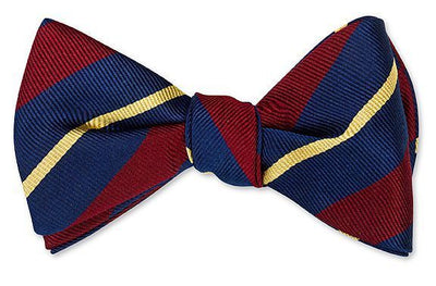 Gloucestershire Striped Bowtie
