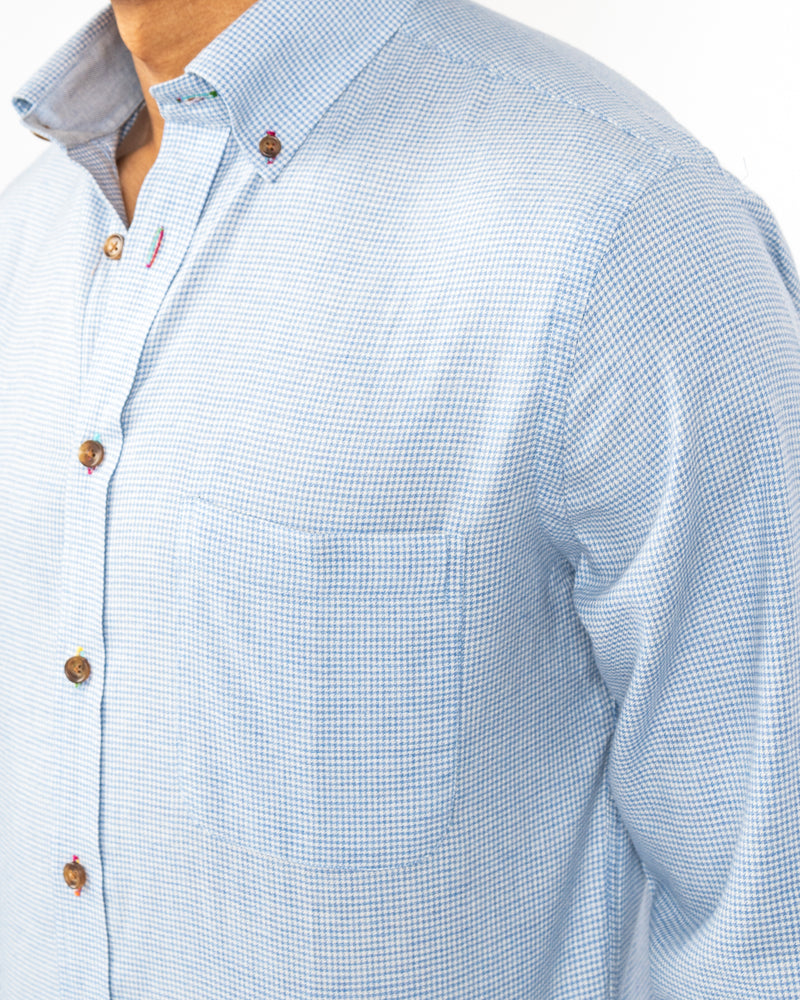Franklin Street Houndstooth Shirt
