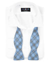 Glen Carolina Bias Plaid Bowtie