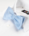True Blues Herringbone Bowtie