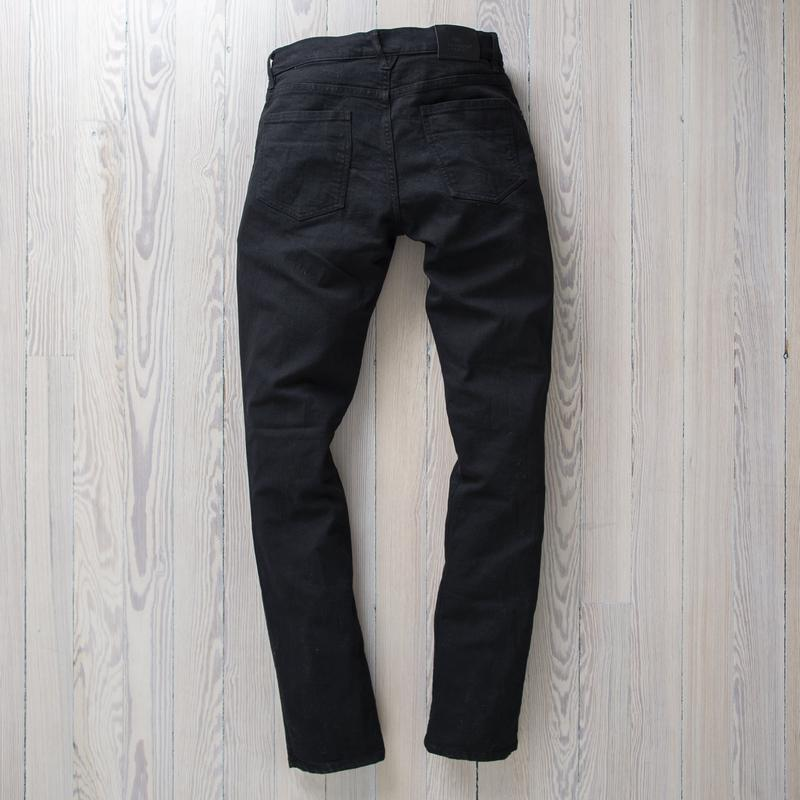 Alexander Stretch Denim Black