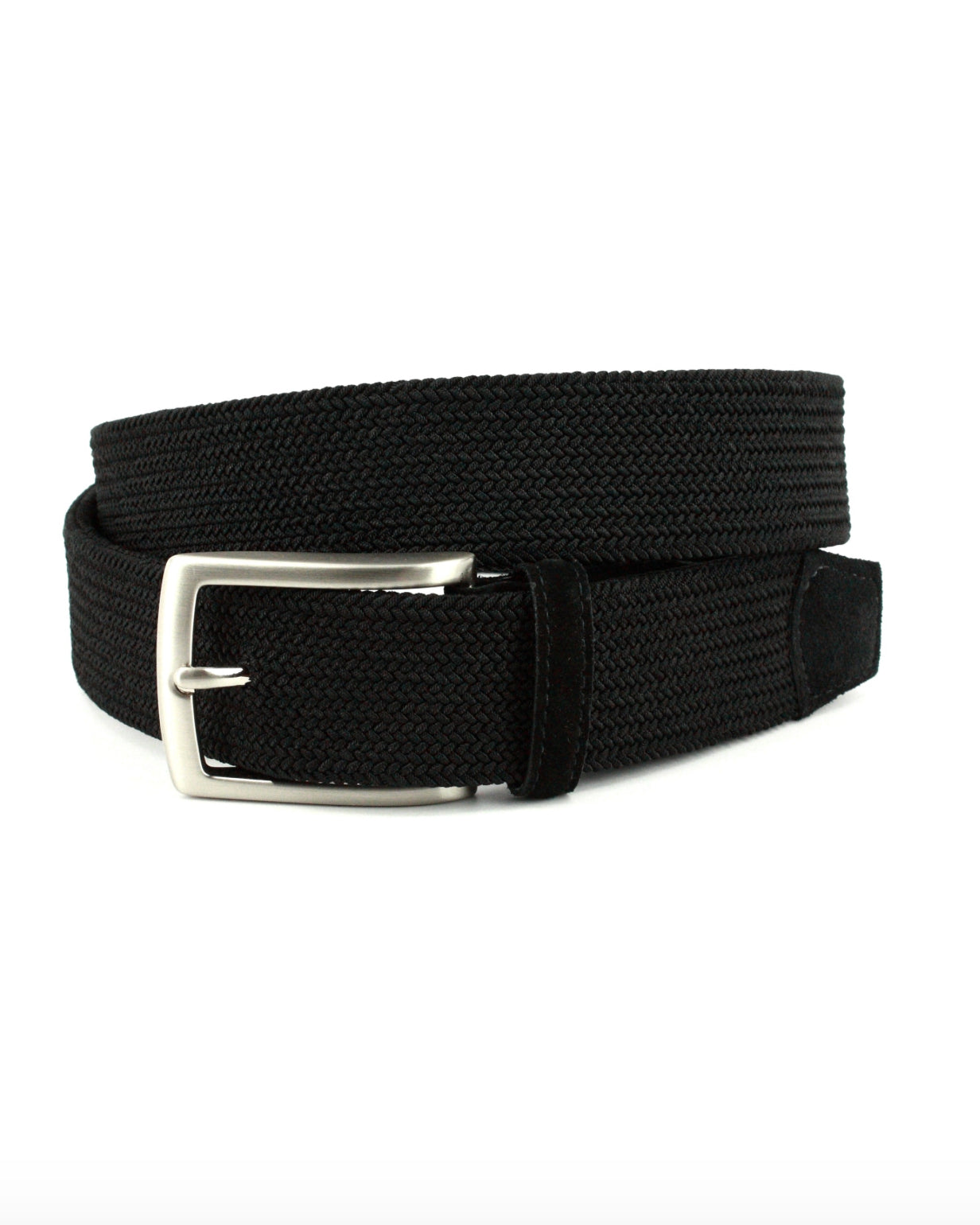 Italian Tubular Woven Stretch Belt