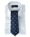 Navy Cycling Necktie