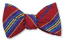 Red Davidson Stripe Bowtie