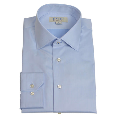 Lt.Blue Micro Twill Dress Shirt