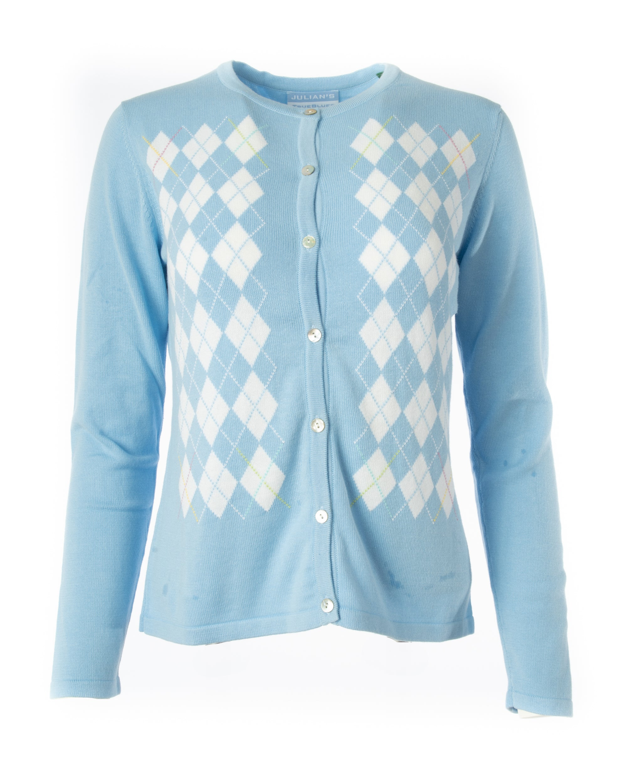 Argyle Pima Cotton Sweater