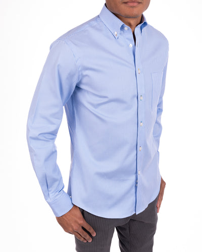 Royal Oxford Button-Down Check Shirt