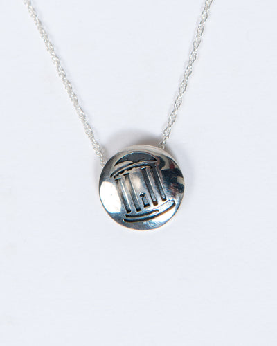 Old Well Disc Necklace