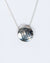 Old Well Sterling Silver Disc Necklace