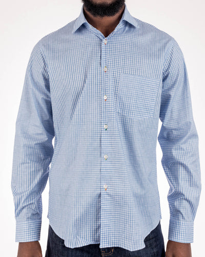 Plaid Evolve Print Shirt