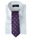 Alexander Julian Iris Cycling Tie