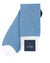 Carolina Blue Block Contrast Heel Sock
