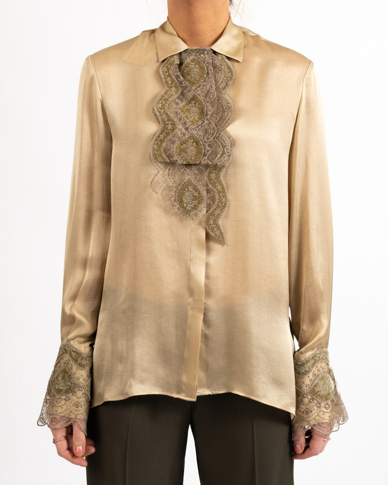 Monet Silk Georgette Blouse
