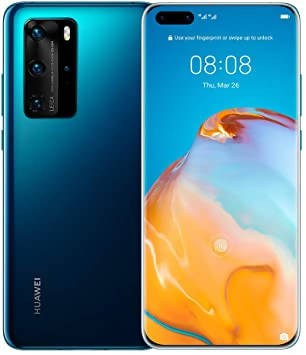 Used And Refurbished Secondhand Huawei P40 - Blue - 128GB - Very good condition - Reebelo