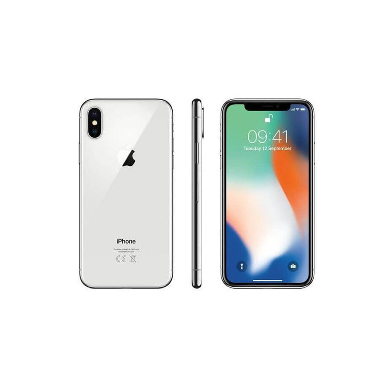 Used And Refurbished Secondhand Apple iPhone X | Silver - 64GB | Gold condition - Reebelo