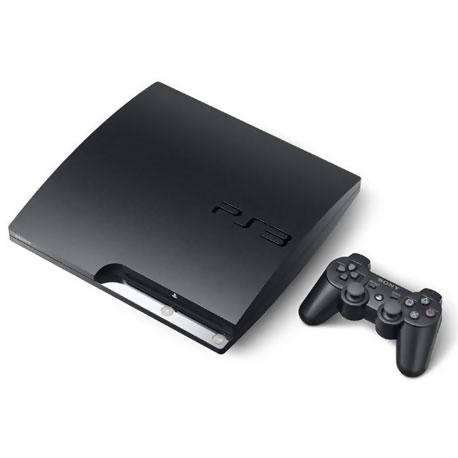 Used And Refurbished Secondhand Sony PlayStation 3 Slim - 4K - Black - 500GB - Good condition - Reebelo