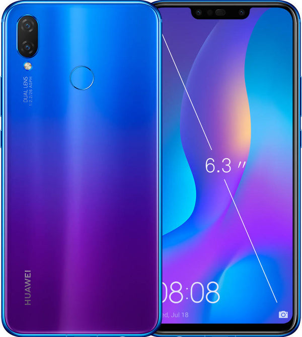 Used And Refurbished Secondhand Huawei Nova 3i - Blue - 128GB - Good condition - Reebelo