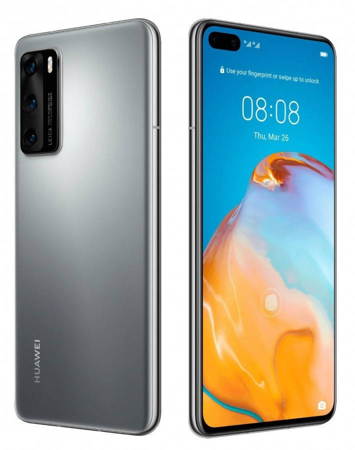 Used And Refurbished Secondhand Huawei P40 Pro - Silver - 256GB - Reebelo