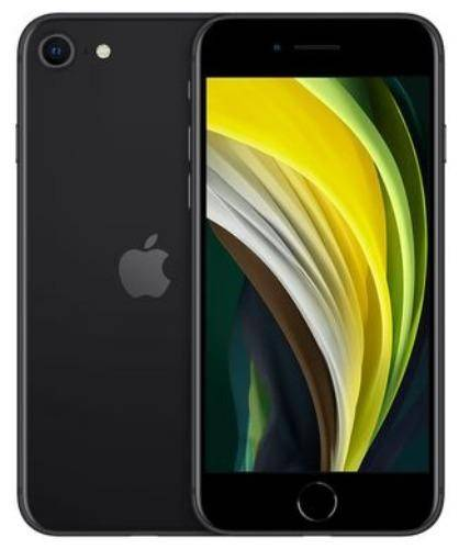 Used And Refurbished Secondhand Apple iPhone SE 2020 -128GB - Black - Brand New condition - Reebelo.