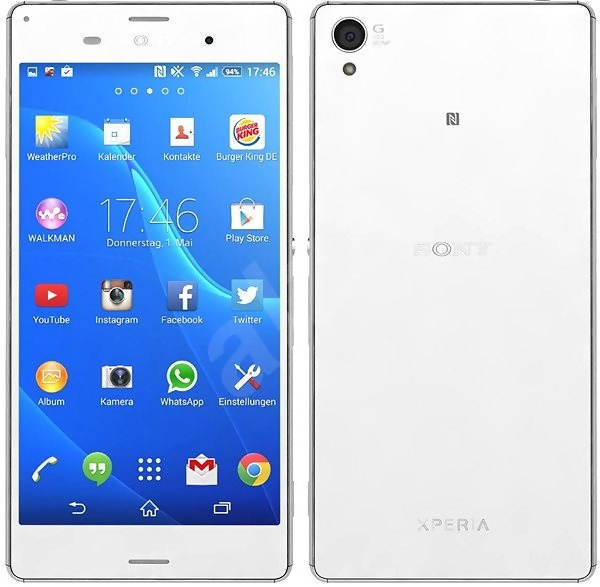 Used And Refurbished Secondhand Sony Xperia Z3 - White - 32 GB - Mint condition - Reebelo