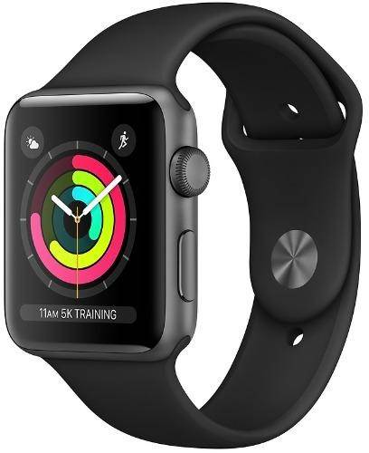 Used And Refurbished Secondhand Apple Watch Series 3 GPS 42mm - - Space Grey - Good - Reebelo.