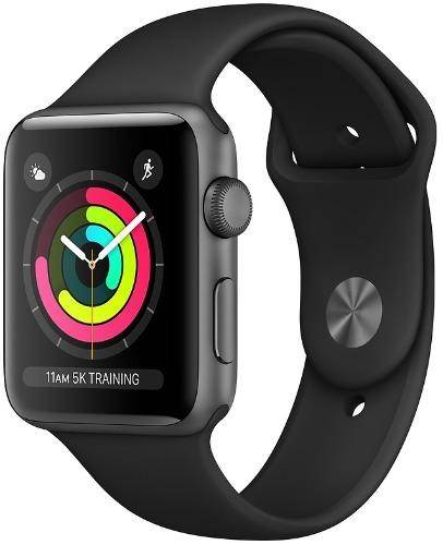 Used And Refurbished Secondhand Apple Watch Series 3 GPS 38mm - - Space Grey - Good - Reebelo.