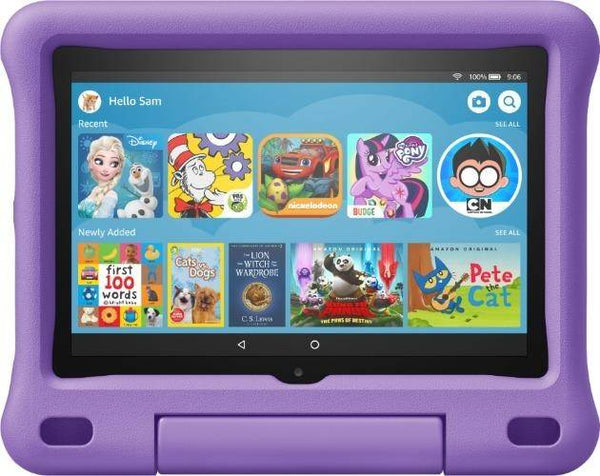 Amazon Fire HD 8 Kids Edition -32GB - Purple - As new condition
