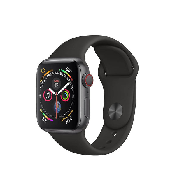 Used And Refurbished Secondhand Apple Watch Series 4 40mm LTE - Black - - Good condition - Reebelo