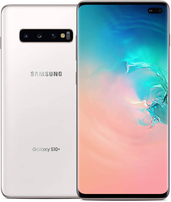 Used And Refurbished Secondhand Samsung Galaxy S10 Plus - White - 128 GB - Reebelo