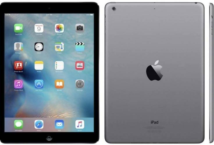 Apple iPad Air 2 WIFI + LTE -64GB - Space Grey - Very good condition